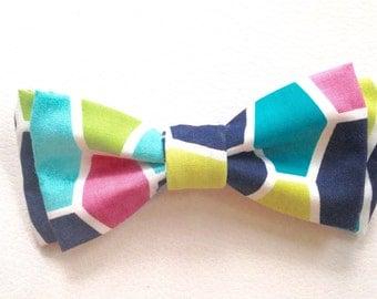 Geometric bow tie- dog bow tie- cat bow tie- child bow tie