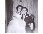 Vintage Photo - Prom Couple - Vintage Photographs, Snapshots, Vernacular, Ephemera (C)