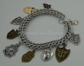 Shield Bracelet - chainmaille bracelet