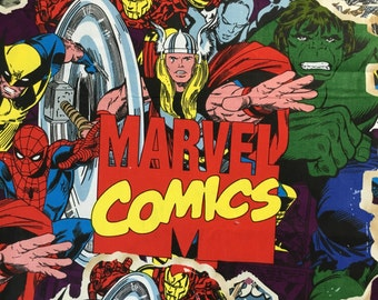 1 3/4 Yard Marvel Comics Fabric