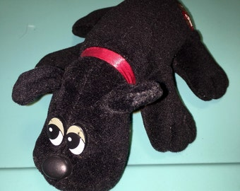 vintage 1980's Tonka Pound Puppies plush  toy dog RAD