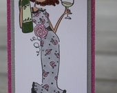 Reading Bookmark, Stamping Bella Bookmark, Uptown Girl Opal Bookmark, Page Marker