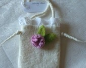 Felted Little Shabby Purse