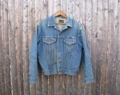 Vintage Wrangler Denim Jacket Type III 3 Mens Medium