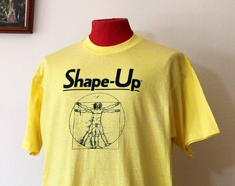 1980s Tshirt Shape Up // Extra Large