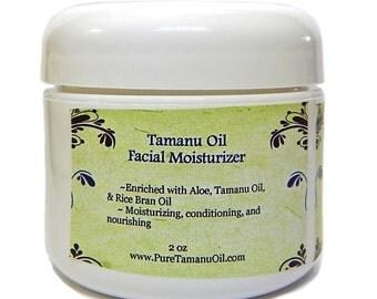 Tamanu Oil Face Cream Lotion with Aloe Vera