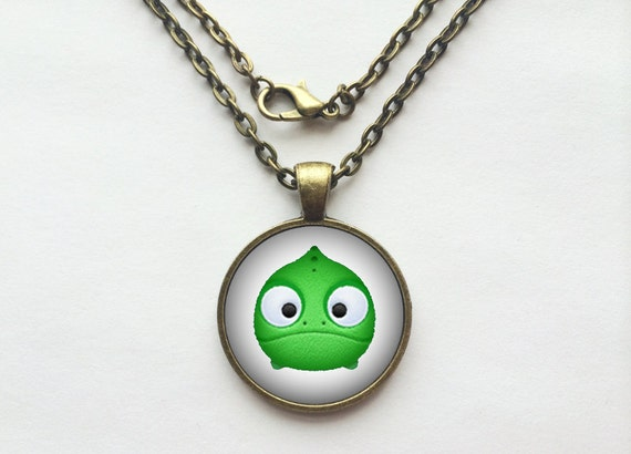 Pascal from Tangled Tsum Tsum Necklace or Keychain