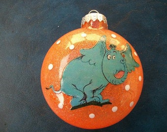 Single Ornament - Horton Inspired
