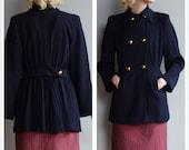 1940s Jacket // Marshall Fields Wool Jacket // vintage 40s jacket