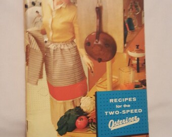 Vintage 1961 Recipes for the Two-Speed Osterizer - 64 pages