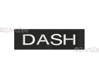 Dash Machine Embroidery Design LIVE YOUR _DASH Make every moment matter