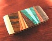 Brother Gift Unique Abstract Money Clip for Men Gift Handmade Brother Gift MC227