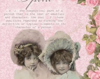 Spirit Instant Download Vintage Photograph