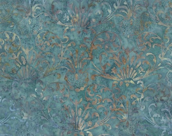 Blue Barn Batiks - Vintage Lace in Twilight by Laundry Basket Quilts for Moda Fabrics