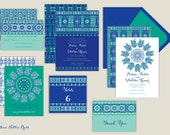 Indian Wedding Invitations-Colorful/Moroccan/Arabian/Asian/Diwali