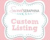 Custom Listing for Kathleen