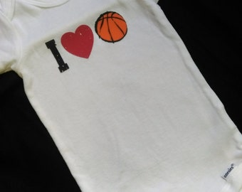 I Love Basketball One Piece