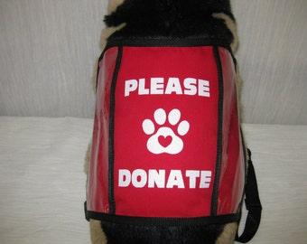 Dog Donation Vest - Large