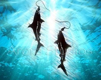 Mako Shark! - Stainless Steel Earring Set
