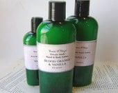 Blood Orange & Vanilla Private Stock Lotion, 4 or 8 oz. Bottle for Dry Skin, Feet, Elbows, Winter Skin