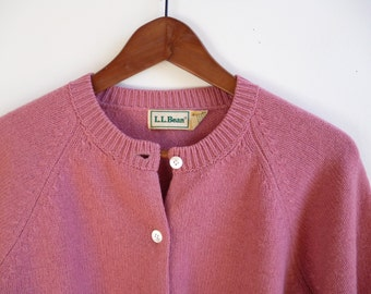 Vintage L.L.Bean Wool Cardigan Women's L