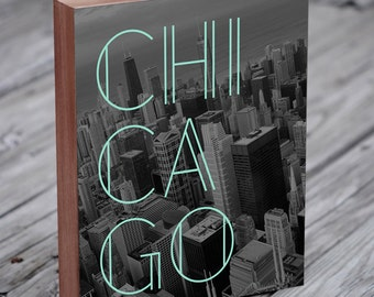 Chicago Print - Chicago Wall Art - Chicago Art - Chicago Poster