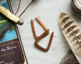 Drifter Wooden Nomad Earrings