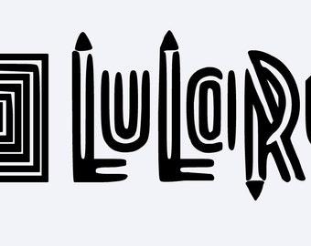 Custom Lularoe Yeti vinyl Decal