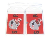 Luggage Tags Set of 2 New England Patriots