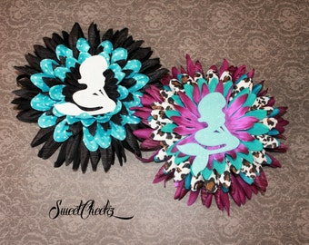 Mermaid Flower Hair Clip ~ Rockabilly & Pinup Accessory