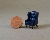 Quarter Inch Scale Furniture - Wingback Chair