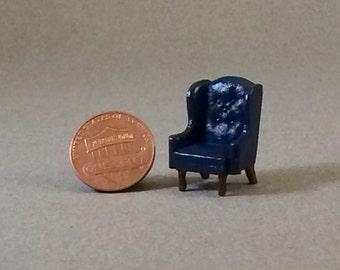Quarter Inch Scale Furniture - Wingback Chair