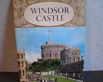 Vintage 1970's British Royal Family Souvenir - Windsor Castle