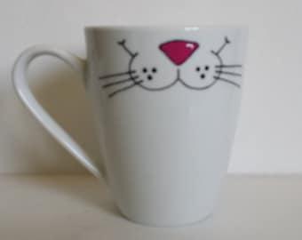 Meow !!!!!!!! Cat smile on your mug