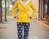 Harbor Hoodie pattern Sizes xx-small, x-small, small, medium, large, xl, 2x, 3x