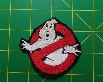 3 inch Ghostbuster cosplay patch