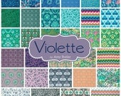 Fat Quarter Bundle - VIOLETTE by Amy Butler - Free Spirit Fabric - 30 FQs