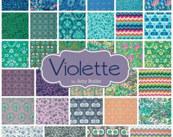 Fat Quarter Bundle - VIOLETTE by Amy Butler - Free Spirit Fabric - 30 FQs
