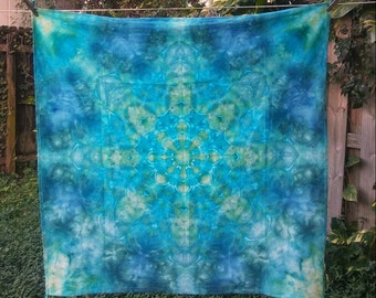 Mandala - Immersion Dyed Wall Tapestry - Please Read Item Details Before Buying