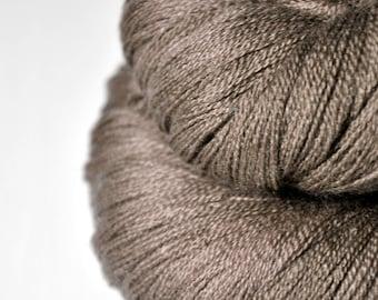 Grandpa's trousers OOAK - Merino/Silk/Cashmere Fine Lace Yarn