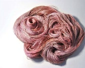 Pure Silk  MERIDIAN  in Antique Copper Rose - One of a Kind