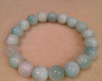Hemimorphite 10mm Bead Stretch Bracelet