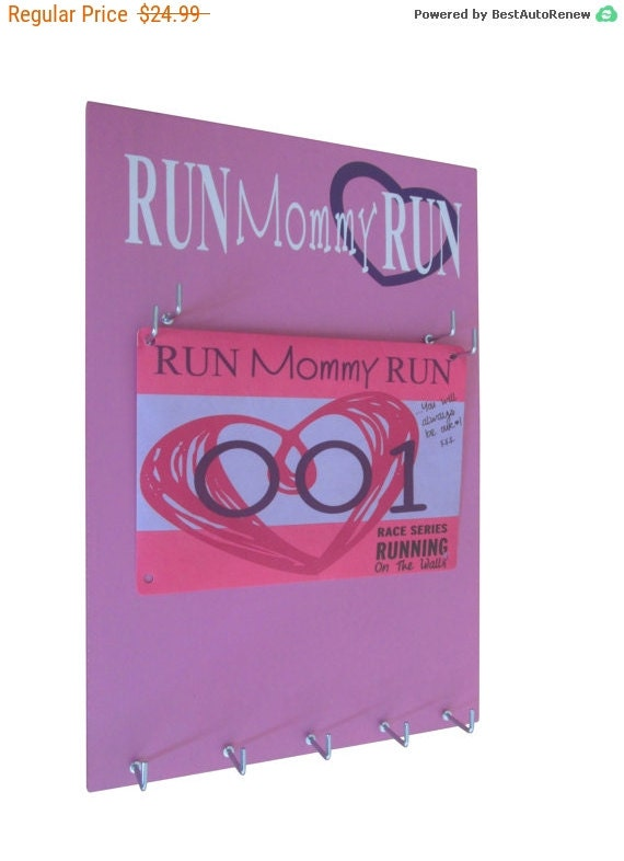 Use a Race Bibs Rack to present your Achievement to the World