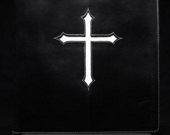 Black Portfolio Cover:  Crosspoint Portfolio
