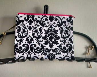 Cell phone pouch, pouch, zippy pouch