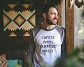 The Coffee Raglan - Unisex