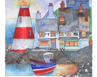 Harbour Twilight - Signed Limited Edition Print