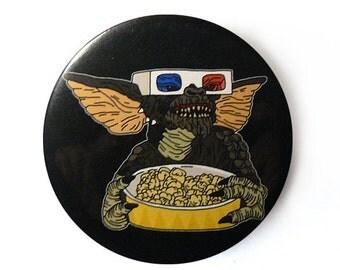 gremlins button pins illustration