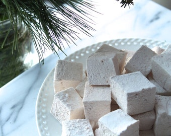 Christmas Spice Maple Vanilla  Holiday Marshmallows 16 pieces
