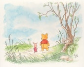 Winnie The Pooh Watercolor